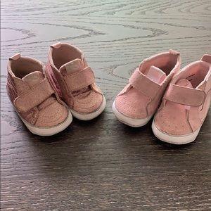 Baby Vans (Walkers)  - Pink 2 Pack